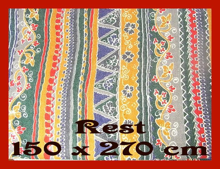 farbenmix baumwolle stoff rest 150 x 270 cm flanell ethno muster quilt patchwork ebay. Black Bedroom Furniture Sets. Home Design Ideas